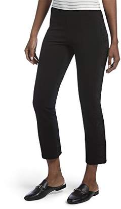 Hue Women's Lace Tuxedo Cropped Tregging Leggings