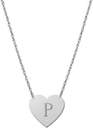 Nordstrom JANE BASCH DESIGNS Diamond & Initial Pendant Necklace