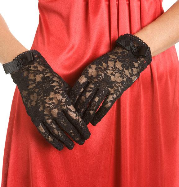 Short Lace Gloves