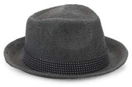 Saks Fifth Avenue Wide Brim Straw Fedora