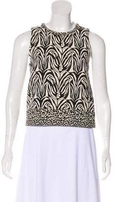Nicholas Patterned Sleeveless Top
