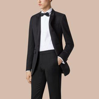 Burberry Satin Lapel Tuxedo Jacket $795 thestylecure.com