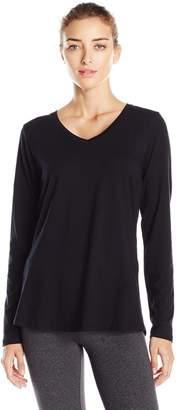 Danskin Women's Essential Long-Sleeve T-Shirt
