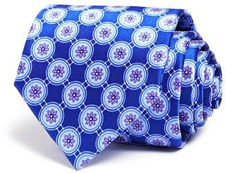 Bloomingdale's The Men's Store at Flower Medallion Classic Tie