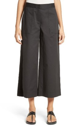 Women's Lafayette 148 New York Kenmare Crop Flare Pants $348 thestylecure.com