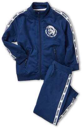 Diesel Toddler Boys) Two-Piece Long Sleeve Track Jacket & Sweatpants Set