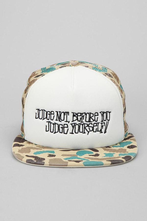 Stussy Saying Trucker Hat