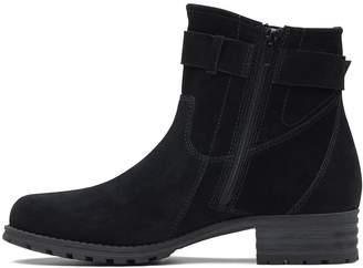 2eb1de86d430 Clarks Marana Amber Suede Ankle Boot - Black
