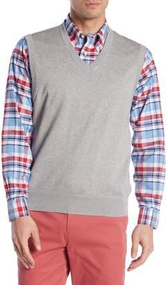 Brooks Brothers V-Neck Knit Vest