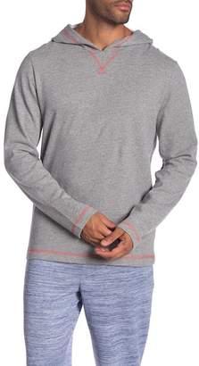 Robert Graham Bhooka Long Sleeve Hooded Top