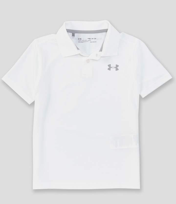 Under Armour Big Boys 8-20 Performance Short-Sleeve Solid Polo Shirt
