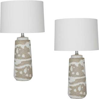 Amalfi by Rangoni Sigrid Table Lamp (Set of 2)