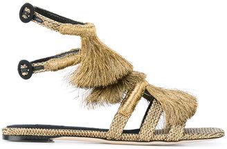 Sanayi 313 fringe sandals
