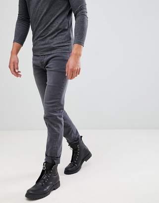 Mennace Washed Black Slim Wallace Jeans