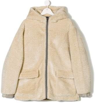 Stella McCartney TEEN faux fur coat
