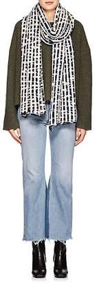 The Elder Statesman Women's Ro Striped Cashmere Scarf