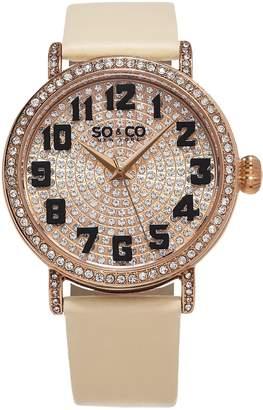 Co SO & New York Women's 5221.3 Madison Quartz Wrist Watches