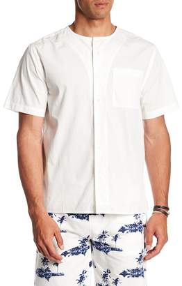 Saturdays NYC Pontus Short Sleeve Front Button Shirt