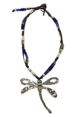 Uno de 50 Beaded Dragonfly Necklace