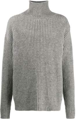 Jil Sander button-shoulder jumper