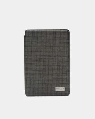 TREEWEK Cross grain iPad mini case