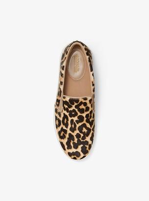 1822edf2fcf3 MICHAEL Michael Kors Keaton Leopard Calf Hair Slip-On Sneaker