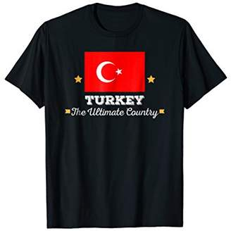 Turkey The Ultimate Country National Flag Turkish T-Shirt