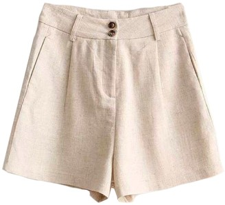 Goodnight Macaroon 'Brooke' Smart Linen Shorts (2 Colors)