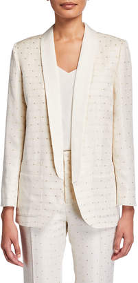 Zadig & Voltaire Verdun Jacquard Star Blazer Jacket