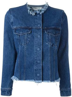 Marques Almeida Marques'almeida raw-edge denim jacket