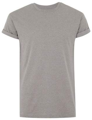 Topman Mens Stone Salt and Pepper Skinny Fit T-Shirt