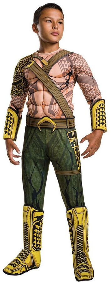 Kids Batman v Superman: Dawn of Justice Deluxe Aquaman Costume