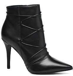 San Marina Women's Gama Ankle Boots in Black
