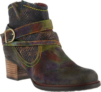 Spring Step L`Artiste by Leather Booties - Shazzam