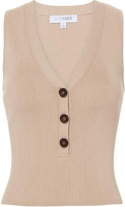 Intermix Camille Button Front Tank