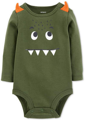 Carter's Baby Boys Monster-Print Cotton Bodysuit
