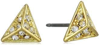 CC Skye Crystal Sands Stud Earrings