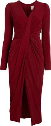Jason Wu Fluid Jersey Twist Draped Dress