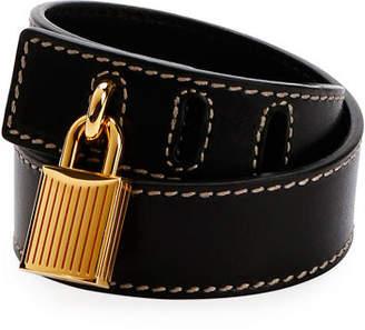 Tom Ford Lock Wrap Bracelet