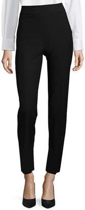 Liz Claiborne Classic Fit Side Zip Ankle Pants