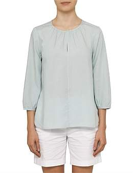 David Jones Scoop Hem Top