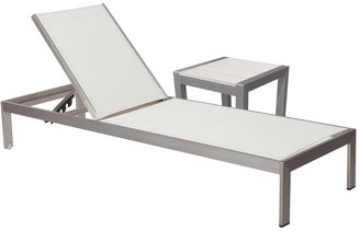 Pangea Home Sally Lounger & Side Table