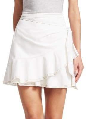 Cinq à Sept Tous Les Jours Anson Twill Mini Skirt