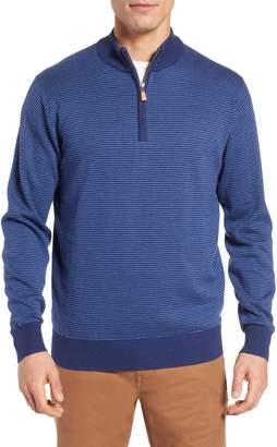 Peter Millar Crown Regular Fit Half Zip Pullover