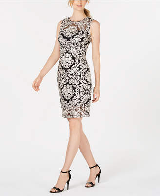 f5cffb3c9a53 Calvin Klein Black Lace Sheath Dresses - ShopStyle