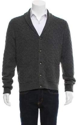 Rag & Bone Cable Knit Wool Cardigan