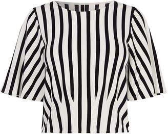 Karen Millen Wide-Sleeve T-shirt