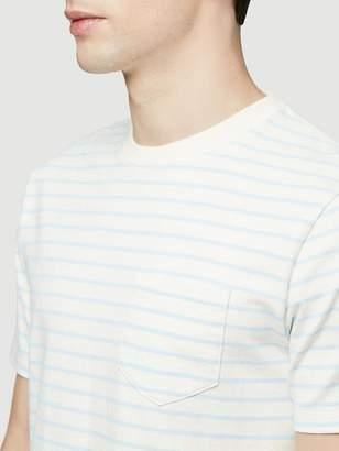 Frame Short Sleeve Striped Tee