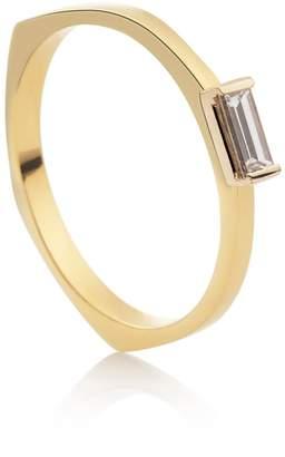 Relevée Baguette 18K Gold Ring