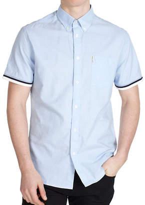 Ben Sherman Flower Power Short-Sleeve Sport Shirt